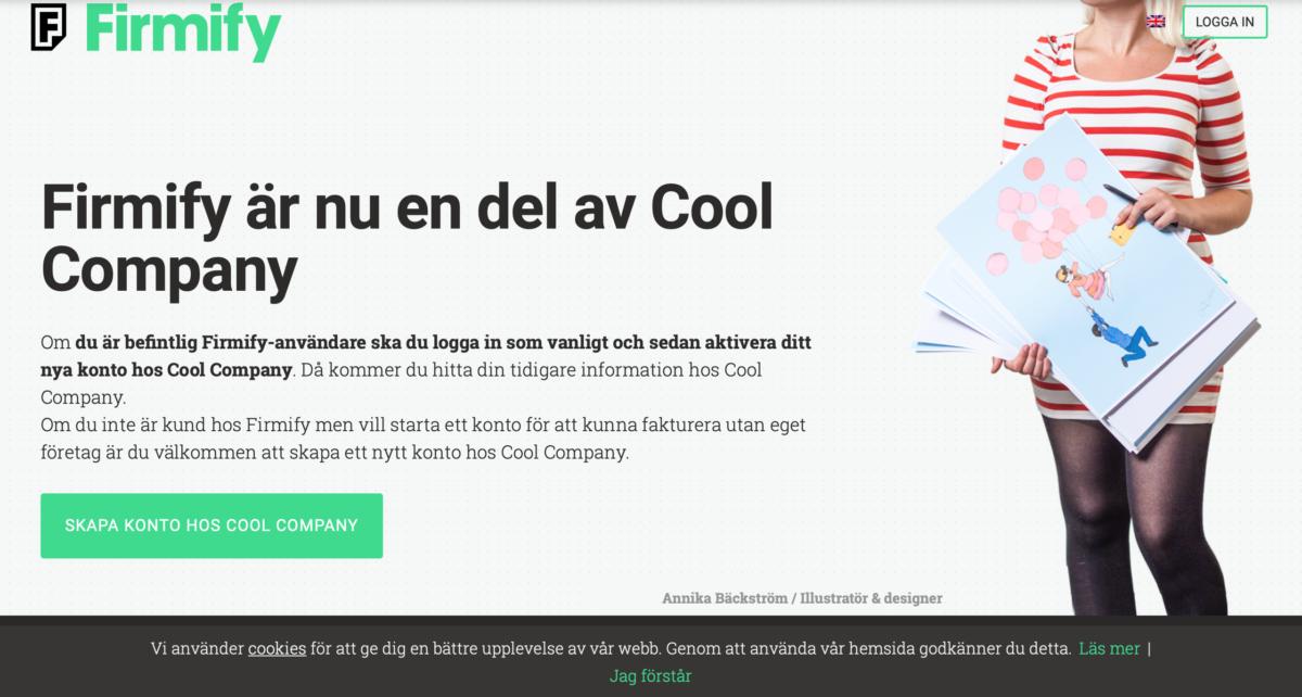 Firmify har blivit uppköpta av Cool Company